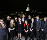 Lloyds Scholars from the University of Sheffield.