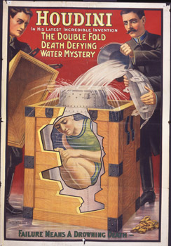 Harry Houdini poster (credit: Museums Sheffield)