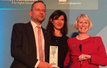 Paul Blomfield wins the Inspiring Leader award