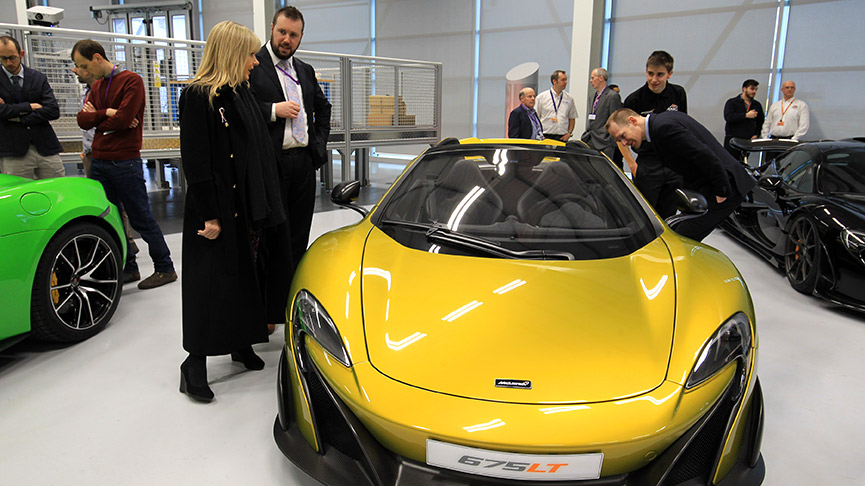 McLaren and AMRC launch event
