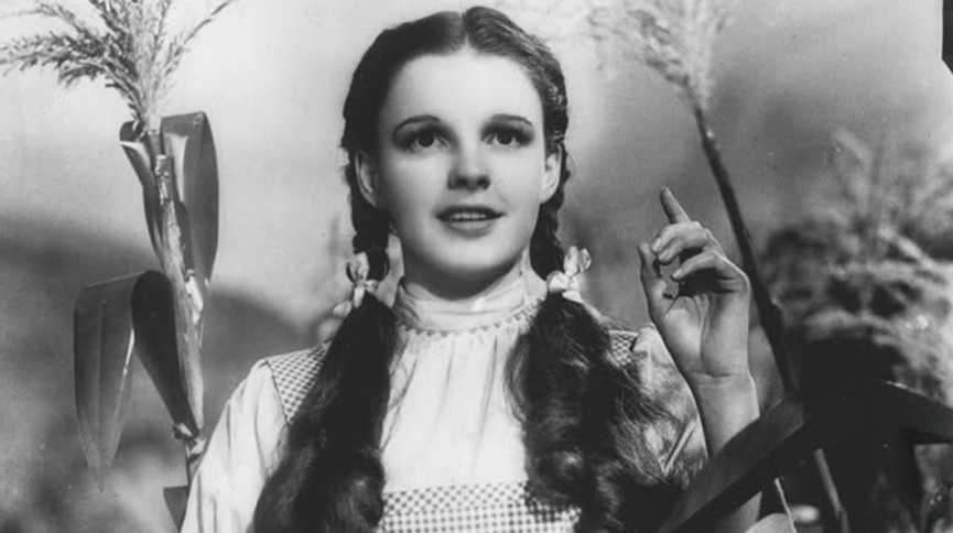 Publicity photo of American entertainer, Judy Garland as Dorothy Gale
