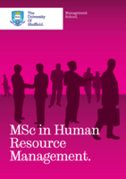 MSc in HRM Brochure