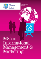 MSc Int Management and Marketing