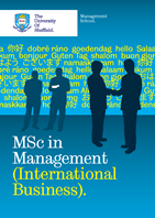 MSc in Management (International Business) Brochure