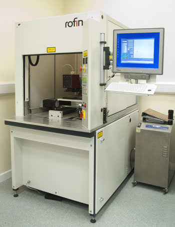 Rofin Laser Ablation Machine