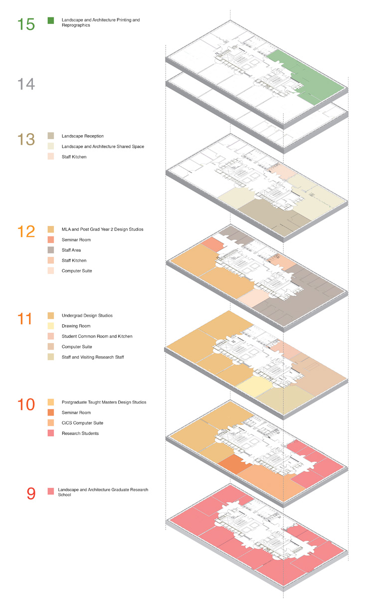 Arts Tower floor plan
