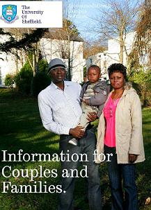 Information for Couples and Families booklet