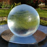 Picture of glass ball