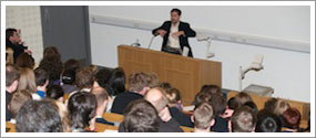 Photo of a Public Lecture