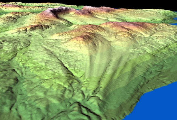 crag-and-tail - drumlins