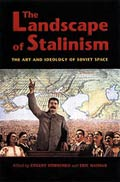 Book cover: The Landscape of Stalinism