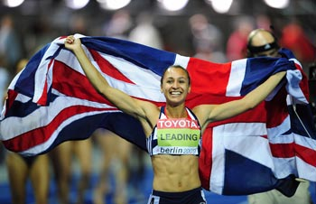 Jessica Ennis at the World Championships 2009 in Berlin