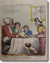An Eighteenth Century Political Cartoon