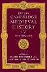 Cambridge Medieval History IV cover.