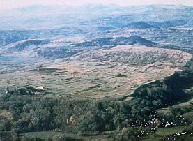 The oppidum and early Roman town of Gergovie
