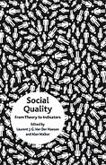 "Book cover ""Social Quality"""