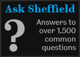 Ask Sheffield? Answers to over 1,500 common questions