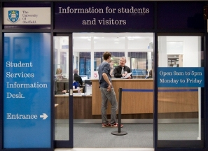 Student Services Information Desk