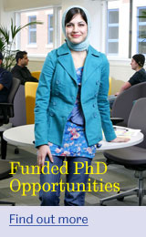 Fully funded PhD opportunities available now