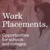 Work placements: opportunities for schools and colleges