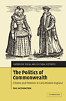 Phil Withington The Politics of Commonwealth book cover