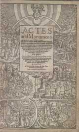 Acts and Monuments title page