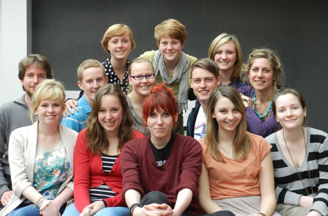 Germanic Studies students