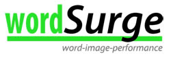 logo wordsurge