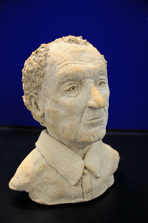 Bust by Eugenia Bruce