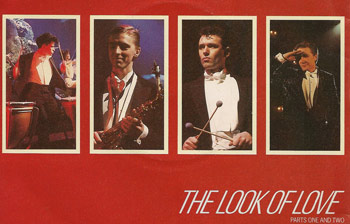 ABC's The Look Of Love single whose lead singer is University graduate Martin Fry