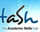 The Academic Skills Hub (TASH) logo