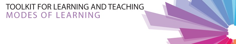Modes of Learning Banner