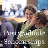 Postgraduate scholarships
