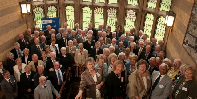 Class of 1962 at the 2012 reunion luncheon