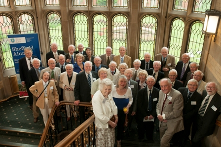 Class of 1952 at 2012 reunion luncheon