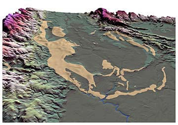 glacial trimlines and nunataks in assynt region of scotland Trimlines have also been used to identify mountains within glaciated terrain that escaped glacial erosion these can represent unglaciated nunataks, standing proud of the ice surface, in which case the regional trimline represents the maximum surface elevation of the ice.