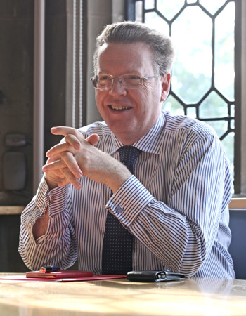 Professor Keith Burnett, Vice-Chancellor
