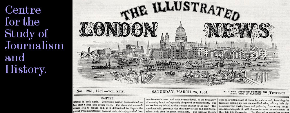 Centre for the Study of Journalism & History - Illustrated London News, 1864.
