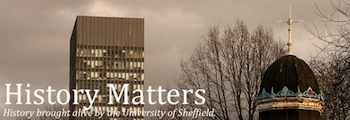 History Matters blog banner.