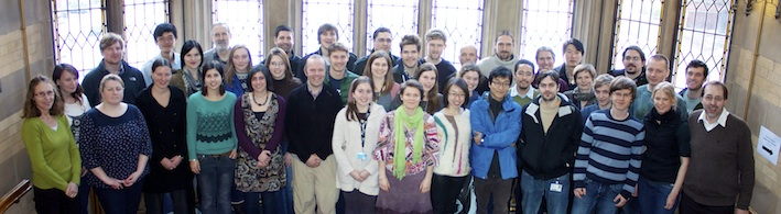 Molecular Ecology Lab Group Picture 5 Feb 2013