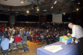 Image of Tim Birkhead's outreach event