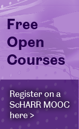 ScHARR MOOCs advert