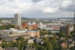 A view of the University of Sheffield Campus