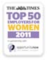 Top 50 for female employees