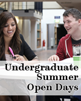 Undergraduate Summer Open Days