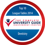 top ten for dentistry badge