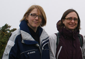 Dr Julia Schroeder and Dr Hannah Dugdale