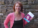 image of Nikki Dibben with book