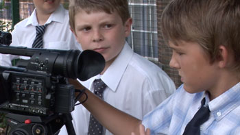 Pupil journalists at Totley Primary School