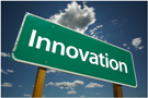 Innovation road sign image